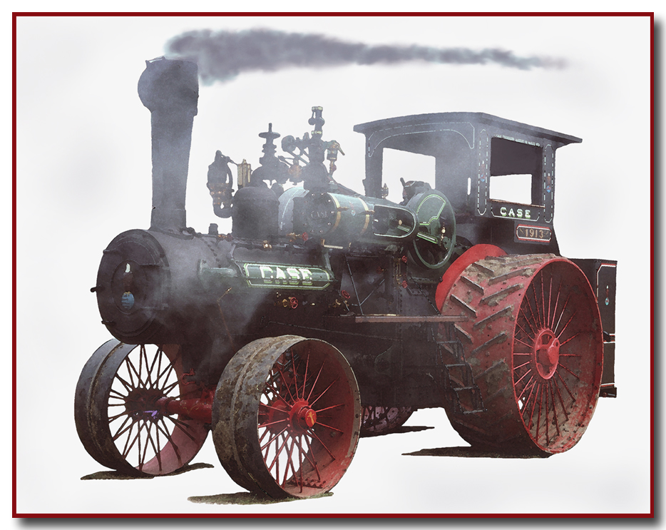 Case Steam Tractor Diagram : J i case avenueart